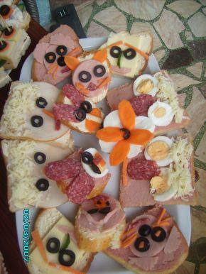Снимка 2 от рецепта за Детски парти сандвичи