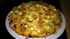 Снимка 5 от рецепта за Домашна пица - III вариант