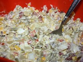Снимка 2 от рецепта за Домашна руска салата
