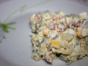 Снимка 3 от рецепта за Домашна руска салата