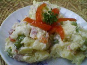 Снимка 6 от рецепта за Домашна руска салата