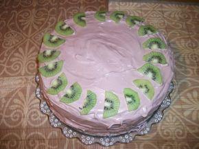Снимка 2 от рецепта за Домашна торта с троен крем