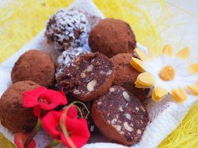Снимка 4 от рецепта за Домашни трюфели
