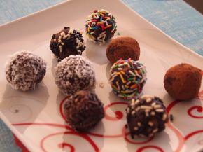 Снимка 5 от рецепта за Домашни трюфели