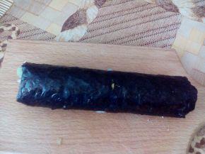 Снимка 8 от рецепта за Домашно суши със сьомга