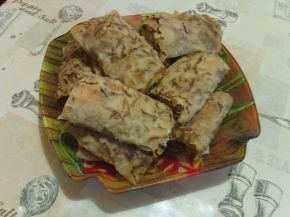 Снимка 2 от рецепта за Домашноточен тиквеник с орехи