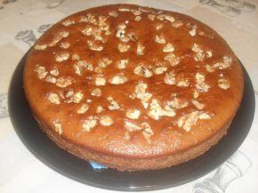 Снимка 2 от рецепта за Двойно печен двуцветен сладкиш със сладко