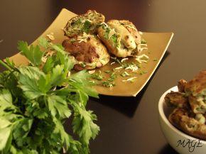 Снимка 2 от рецепта за Еклери с коприва, сушен лук и пълнеж със скаморца