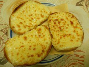 Снимка 3 от рецепта за Филийки със запечен кашкавал