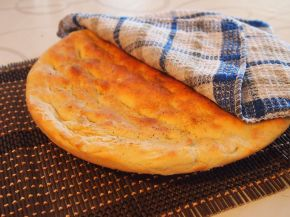 Снимка 3 от рецепта за Фокача `по български`