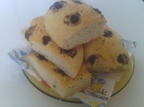 Снимка 2 от рецепта за Фокача с маслинова паста