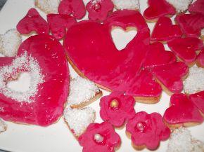 Снимка 3 от рецепта за Фонданови сърчица - Валентинки