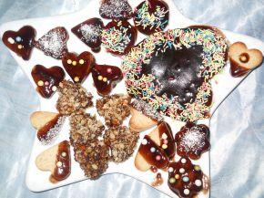 Снимка 4 от рецепта за Фонданови сърчица - Валентинки