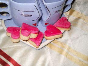 Снимка 5 от рецепта за Фонданови сърчица - Валентинки