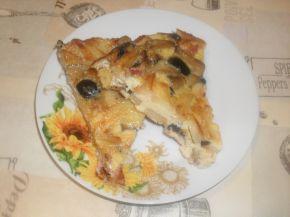 Снимка 3 от рецепта за Фритата с картофи, филе, маслини и гъби
