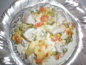 Снимка 7 от рецепта за Гювече `Пилешка вкусотия`