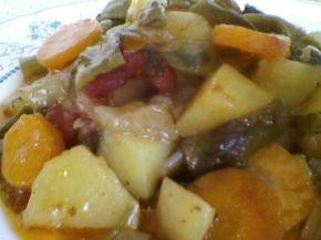 Снимка 4 от рецепта за Гозба от зеленчуци