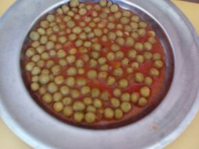 Снимка 2 от рецепта за Грах с домати