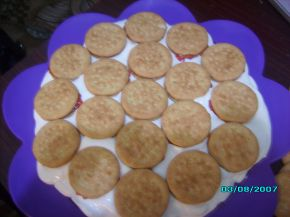 Снимка 2 от рецепта за Грозна бисквитена торта