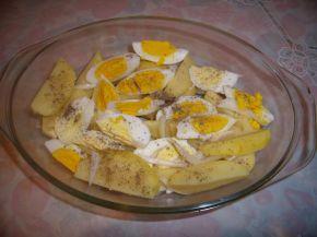 Снимка 3 от рецепта за Гръцка салата с картофи