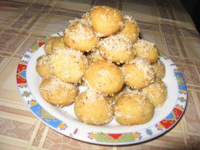 Снимка 5 от рецепта за Гръцки портокалови курабийки с мед