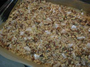 Снимка 6 от рецепта за Гръцки кейк с локум и орехи