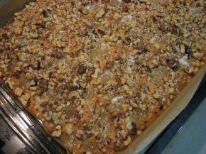 Снимка 7 от рецепта за Гръцки кейк с локум и орехи