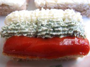 Снимка 3 от рецепта за Хапки трикольорна лента