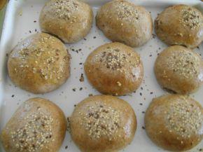 Снимка 3 от рецепта за Хлебчета с ленено брашно