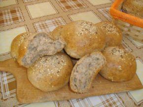 Снимка 4 от рецепта за Хлебчета с ленено брашно