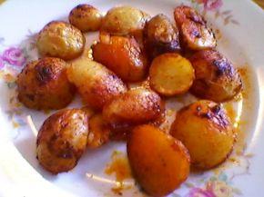 Снимка 3 от рецепта за Хрупкави печени картофи