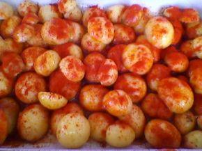 Снимка 4 от рецепта за Хрупкави печени картофи