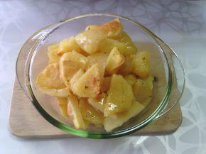 Снимка 5 от рецепта за Хрупкави печени картофи