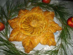 Снимка 11 от рецепта за Ябълков пай с канела
