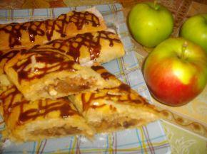 Снимка 3 от рецепта за Ябълков щрудел с лешници