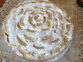 Снимка 1 от рецепта за Ябълков сладкиш с маскарпоне