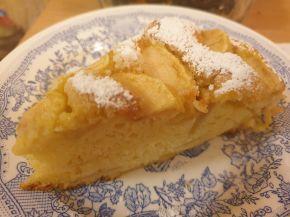 Снимка 4 от рецепта за Ябълков сладкиш с маскарпоне