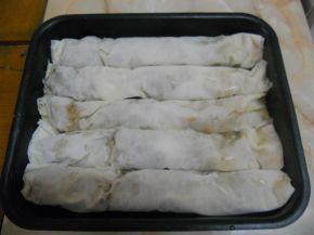 Снимка 2 от рецепта за Ябълкова баница