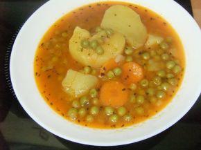 Снимка 5 от рецепта за Яхния грах с картофи