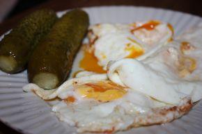 Снимка 4 от рецепта за Яйца на очи