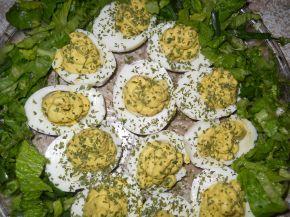 Снимка 4 от рецепта за Яйца с авокадо и горчица