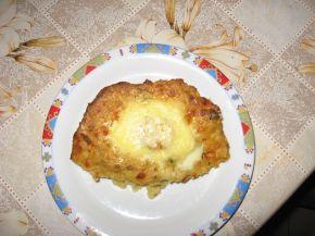 Снимка 4 от рецепта за Яйца в картофено легло