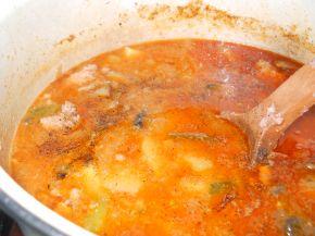 Снимка 3 от рецепта за Ястие с гъби, картофи и кайма