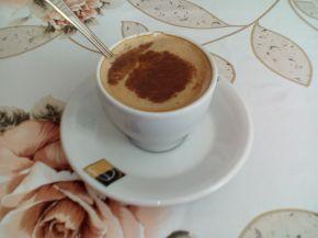 Снимка 10 от рецепта за Кафе с мляко и канела