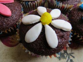 Снимка 3 от рецепта за Какаови мъфини без яйца