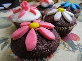 Снимка 4 от рецепта за Какаови мъфини без яйца