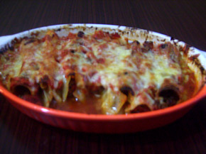 Снимка 2 от рецепта за Канелони с кайма