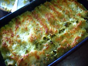 Снимка 2 от рецепта за Канелони със спанак и сирене