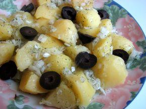 Снимка 1 от рецепта за Картофена салата с лук
