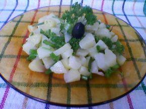 Снимка 3 от рецепта за Картофена салата с лук